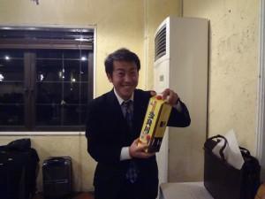 多良川新年会_今年の司会