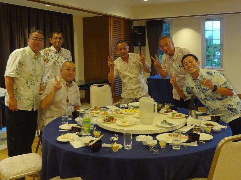 多良川懇親会テーブル1